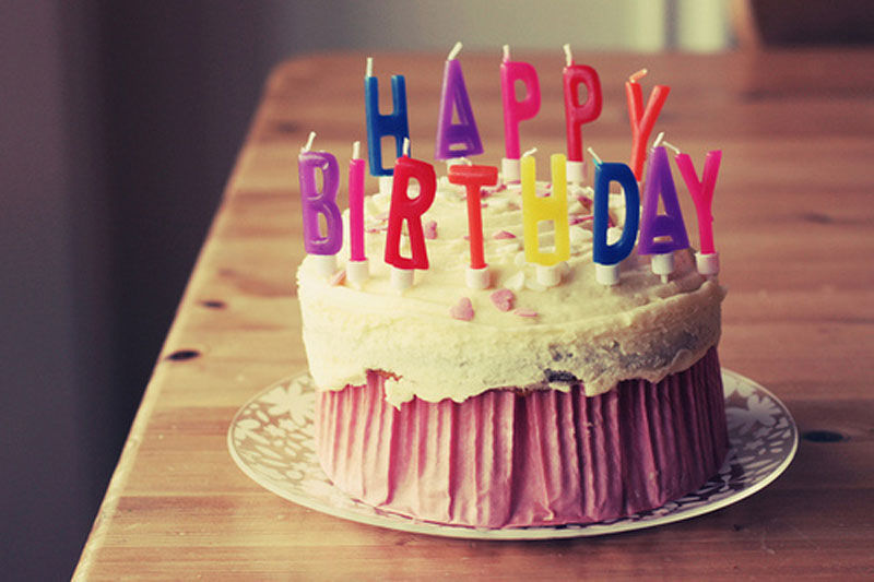 Ванильные картинки с днем рождения
